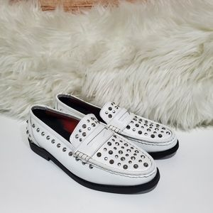 Musse & Cloud Penny Loafers Size 8